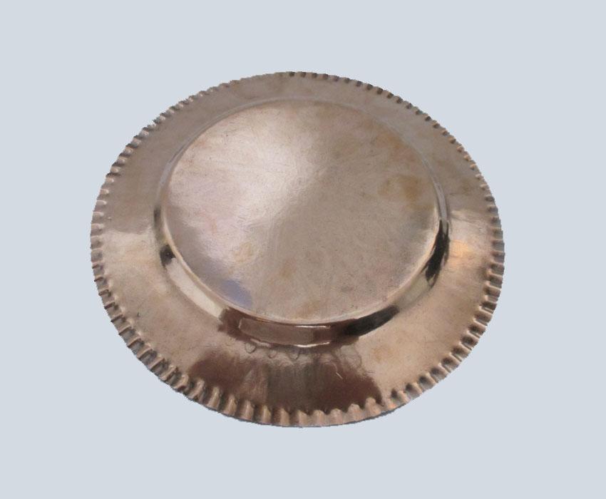 بشقاب خورشت خوری مسی تک رو، طرح دار و مناسب سرو انواع خورشت